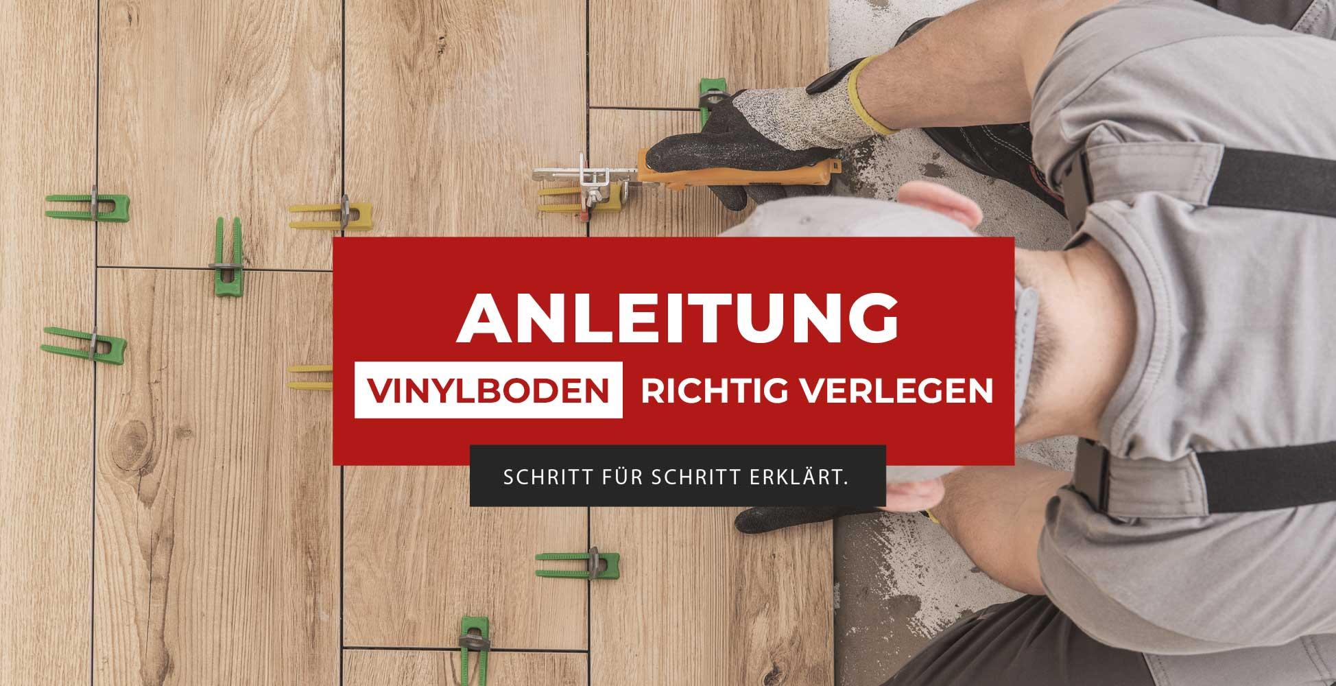 vinylboden verlegen – anleitung vom profi