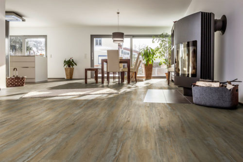 Paris oak rustic